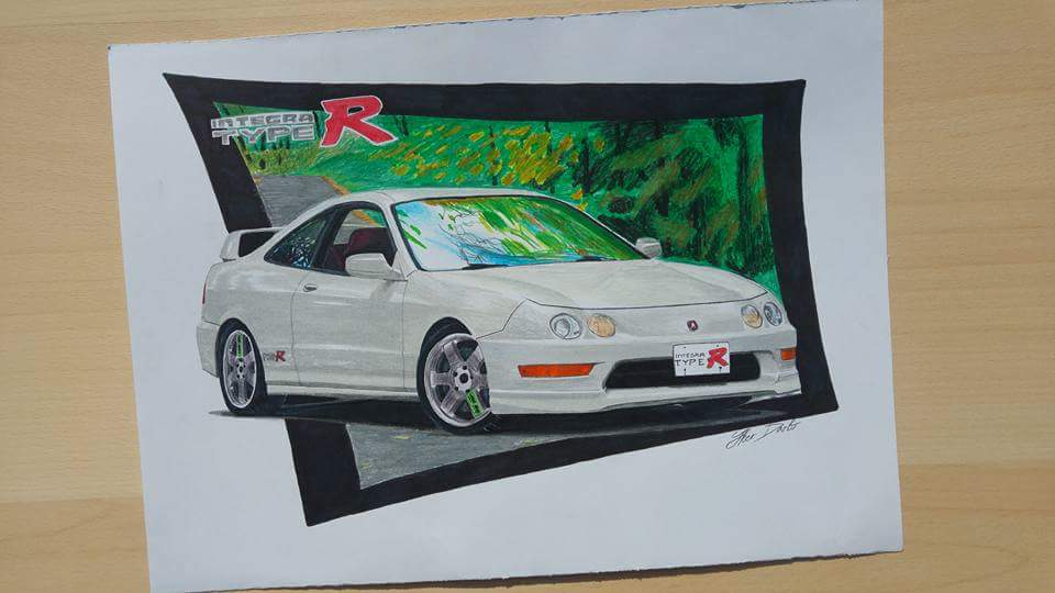Acura Integra Type R (35x25) for sale, I hope you like it. Btw my ...