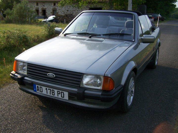 1986 ford escort xr3i cabriolet mk3. Black Bedroom Furniture Sets. Home Design Ideas