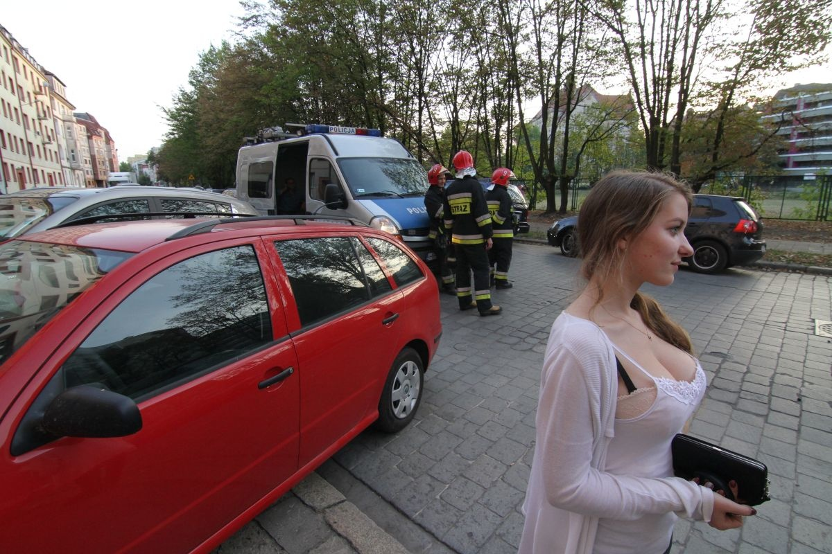 There Has Been A Car Crash In Wroclaw Poland This