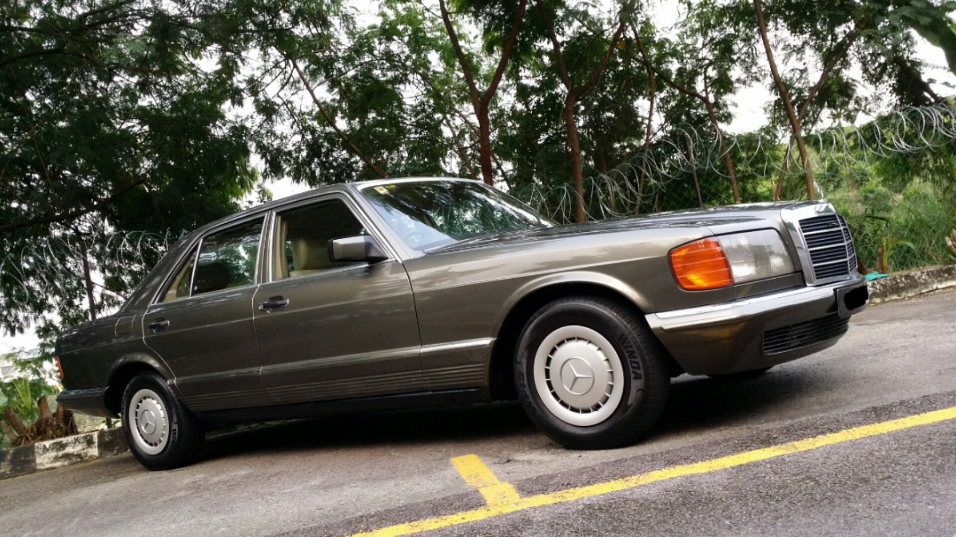 1985 mercedes benz w126 280se for Mercedes benz w126