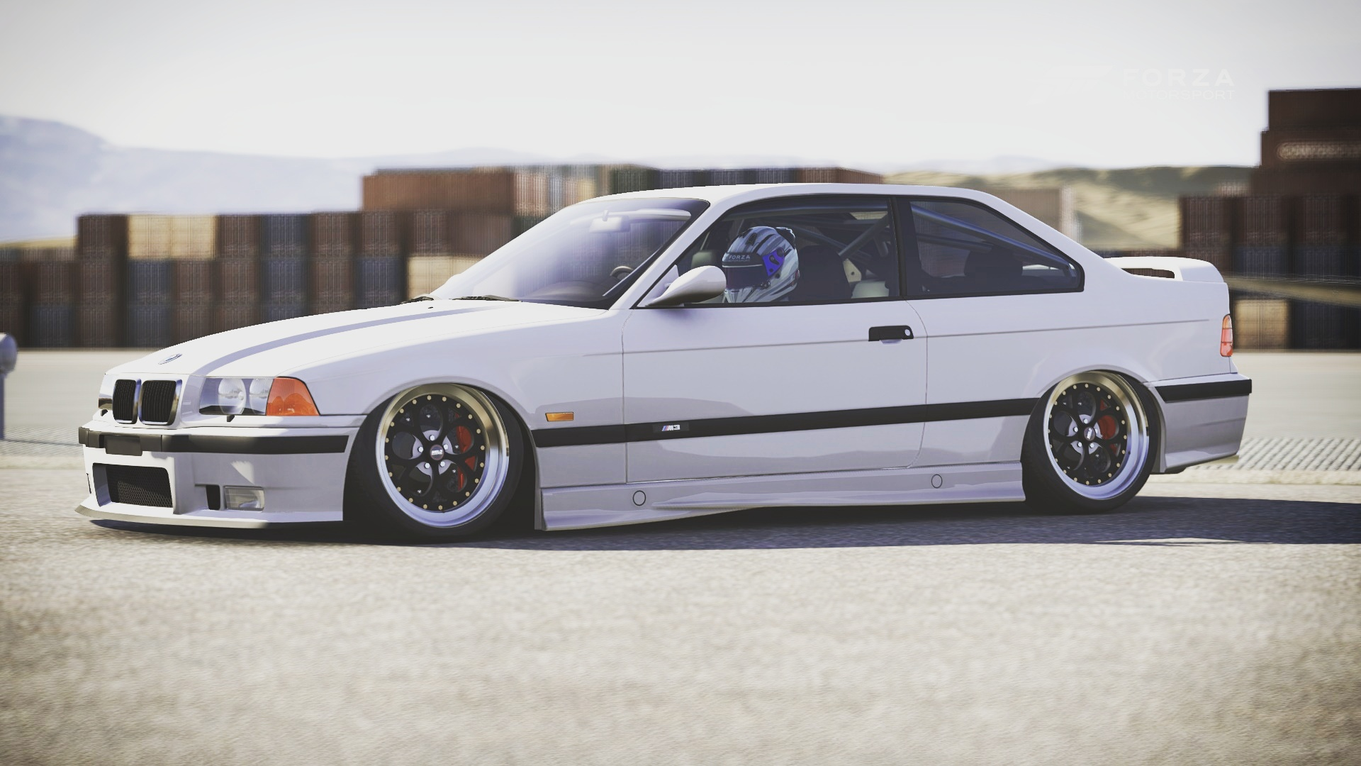 Bagged E36 M3 In Forza Motorsport 6