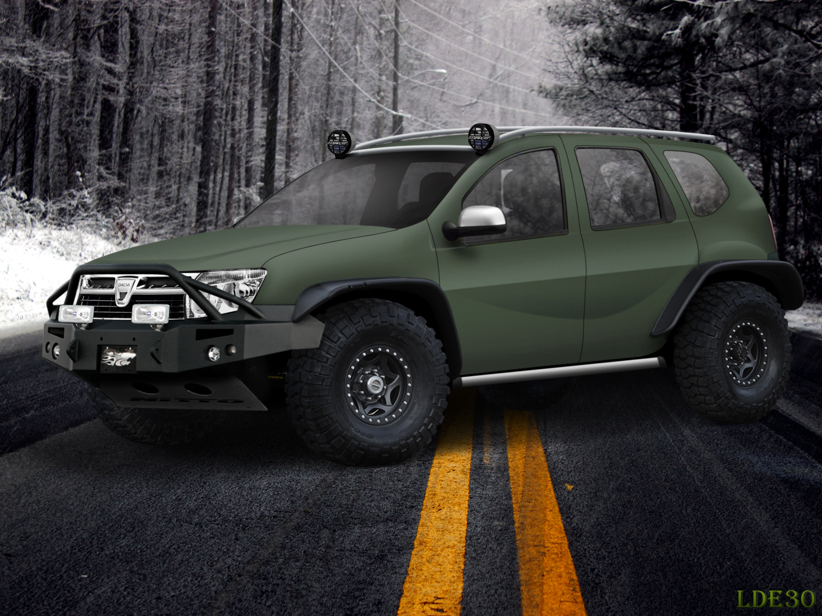 virtual tuning by me dacia duster original photo in comment. Black Bedroom Furniture Sets. Home Design Ideas