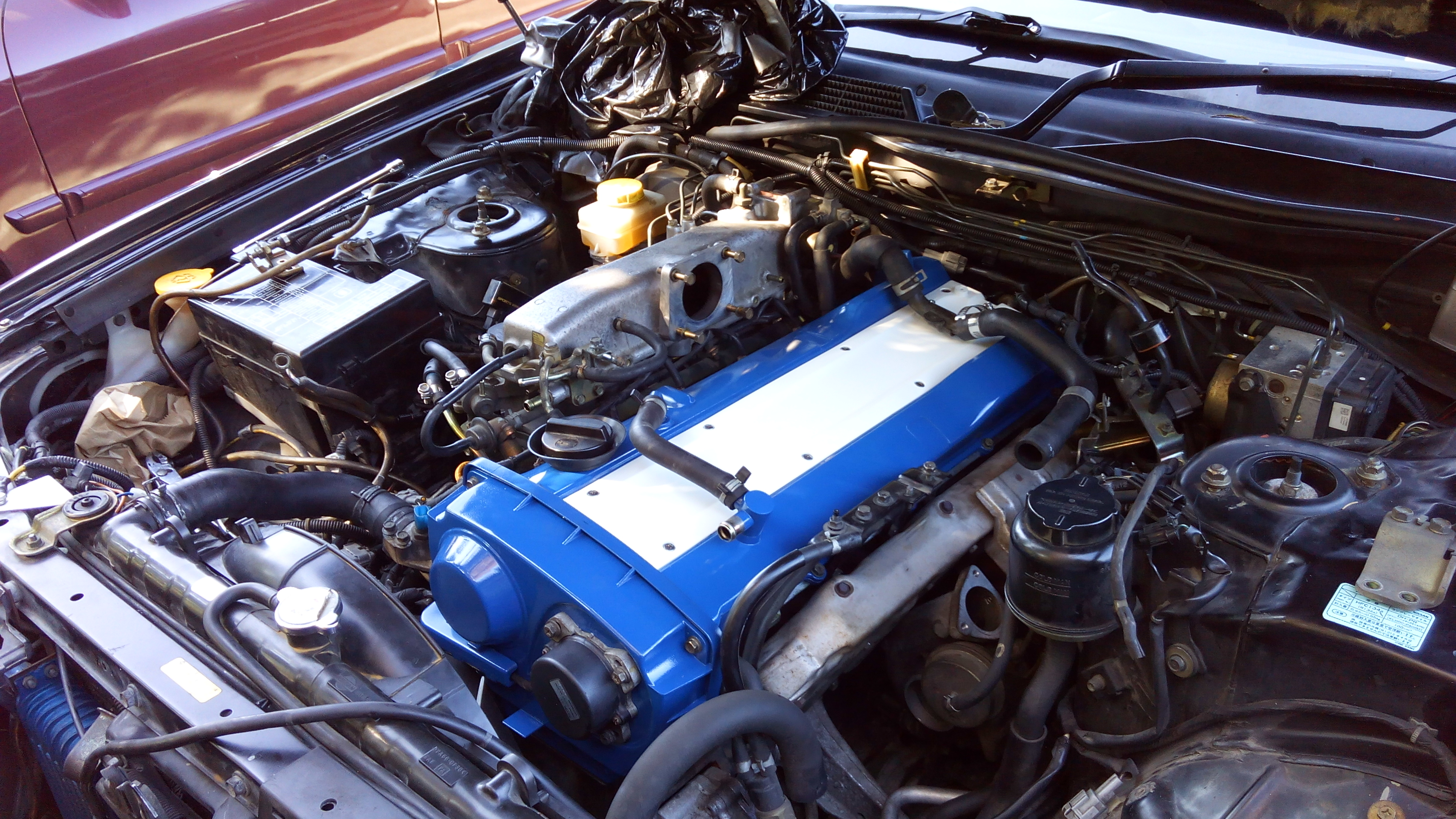 Its Monday And My Company Has Open WiFi Show Me Your Engine Bay - Overhaul car show
