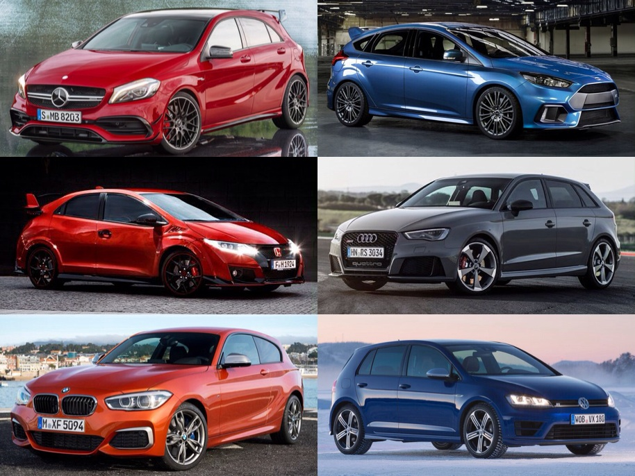 DECISSION OF THE DAY  Hot Hatches Mercedes A45 AMG Ford Focus