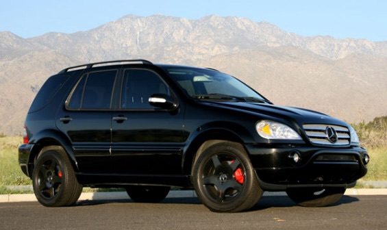 2000 mercedes benz ml55 amg