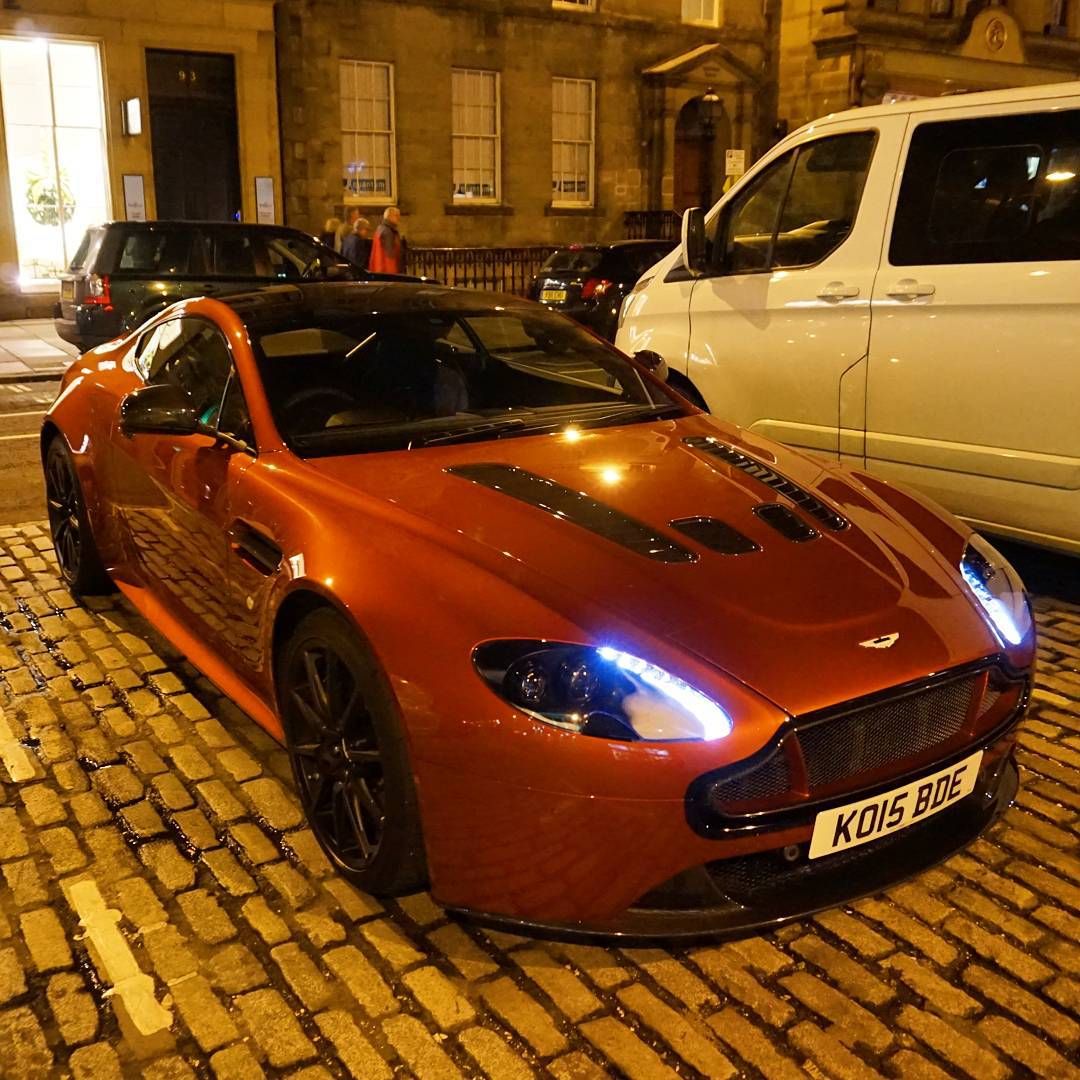 For The 007 Lived Here Esso Synergy Tour I Ll Be Driving In The Madagascar Orange Aston Martin V12 Vantage S No Surprise The Theme Is James Bond