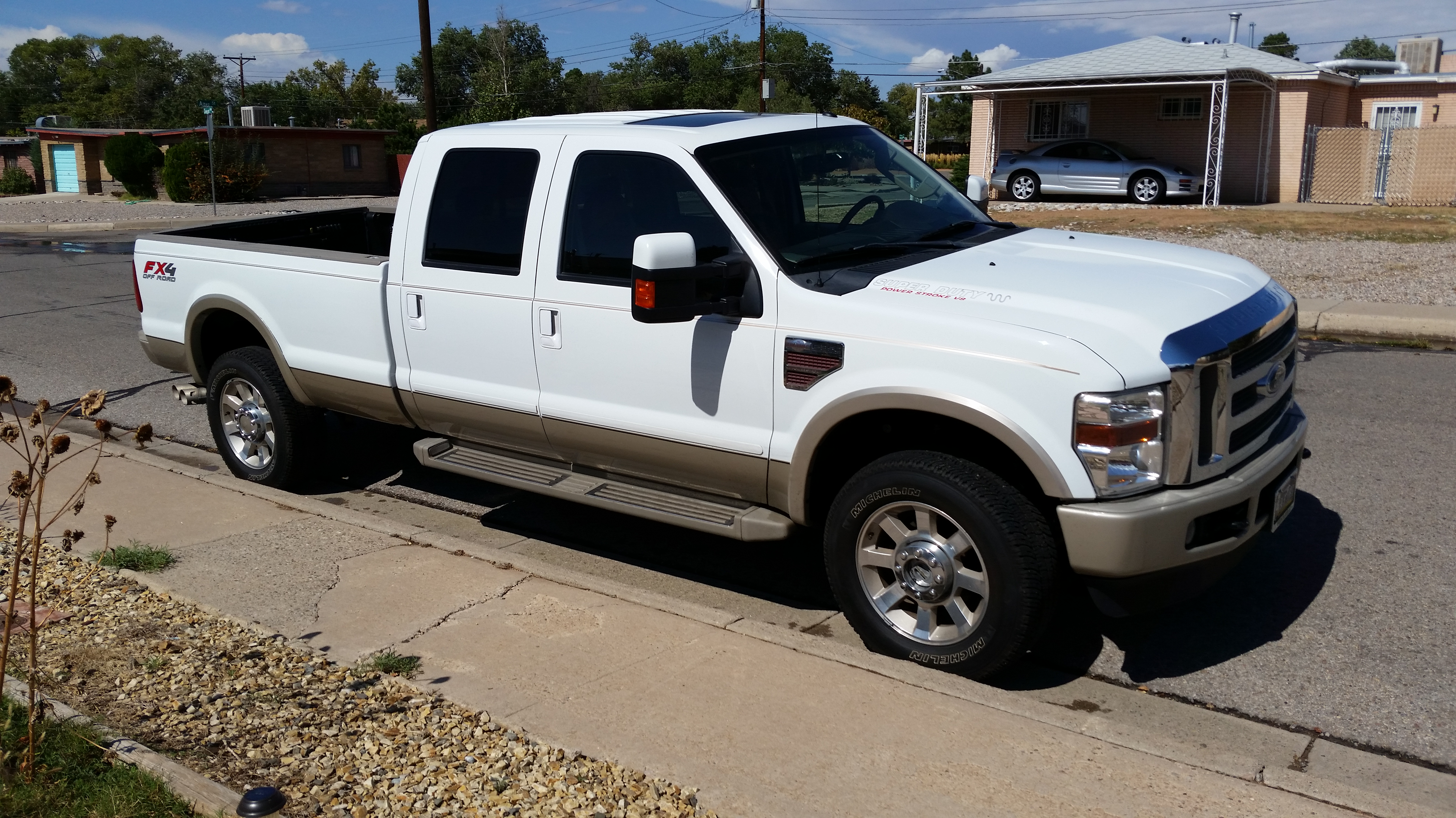 my new truck 2010 ford f350 king ranch 6 4l powerstroke. Black Bedroom Furniture Sets. Home Design Ideas