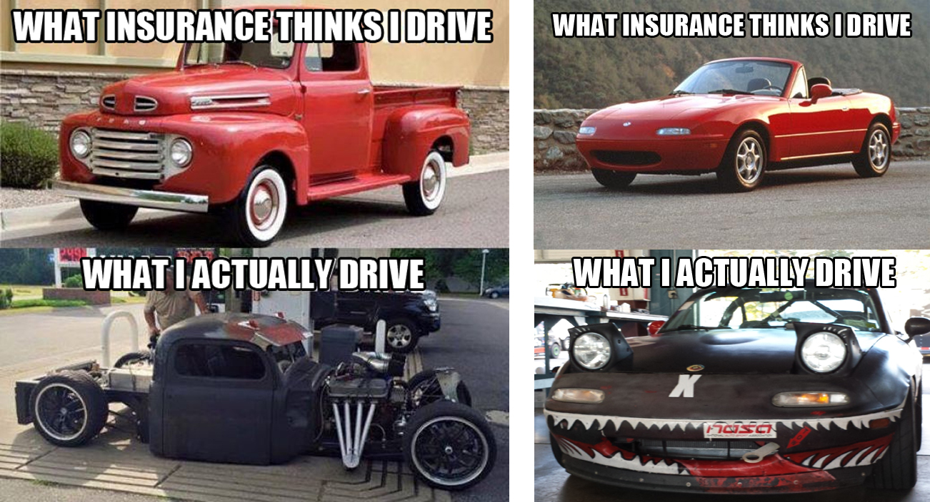 Meme Competition What Insurance Thinks You Drive Submit