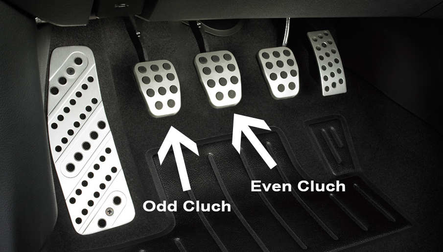 What Is A Clutch In A Car >> 4 Pedal Car Maybe In A Manual Dual Clutch