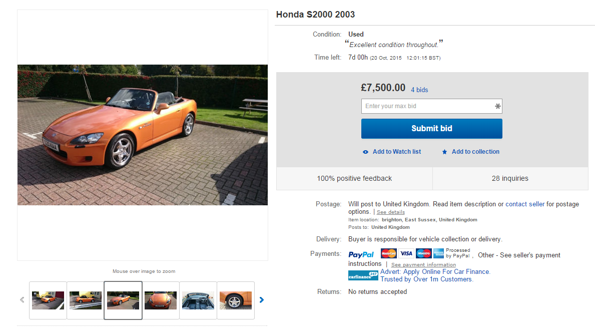 Last Nights Honda S2000 On Wheeler Dealers The Owner Missed It So Much He Had To Buy Back