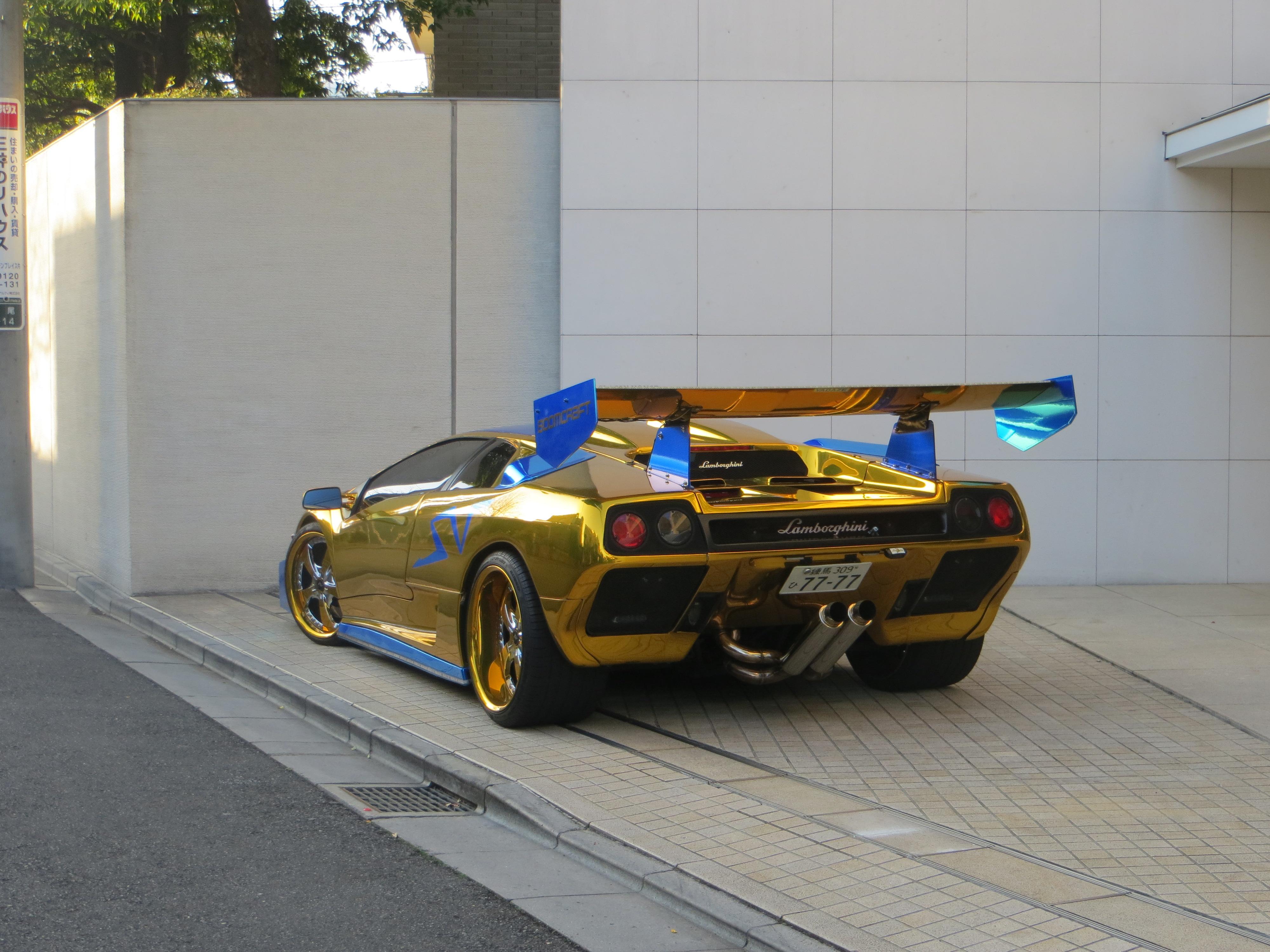 Sick Lamborghini Diablo Sv Is Saw In Tokyo
