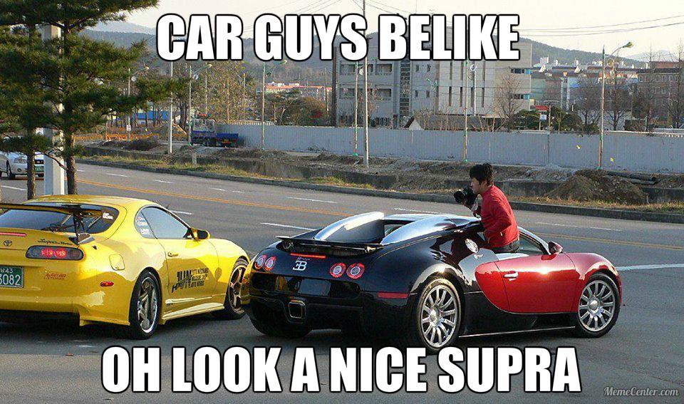 You Know Supra Is Better Car Than A Bugatti