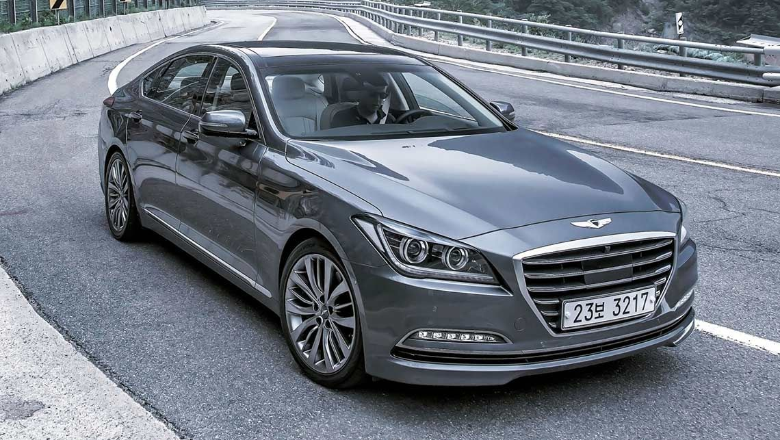 The New Genesis Is One Of The Best Looking Sedans On The Market