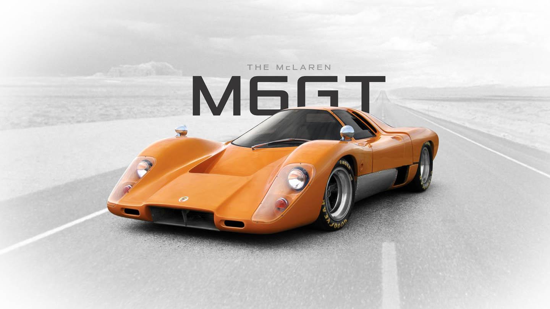 Don Miller Subaru >> An old school McLaren road car. The Mclaren M6 GT