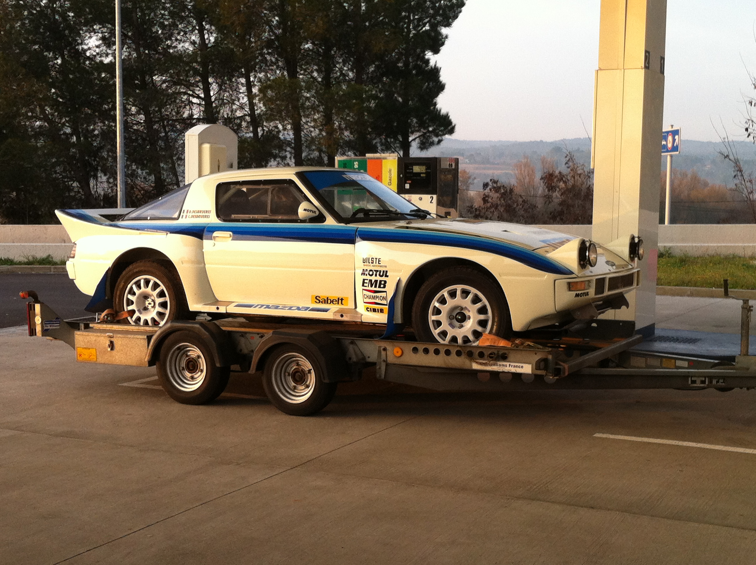 Mazda Rx Rally Car For Sale
