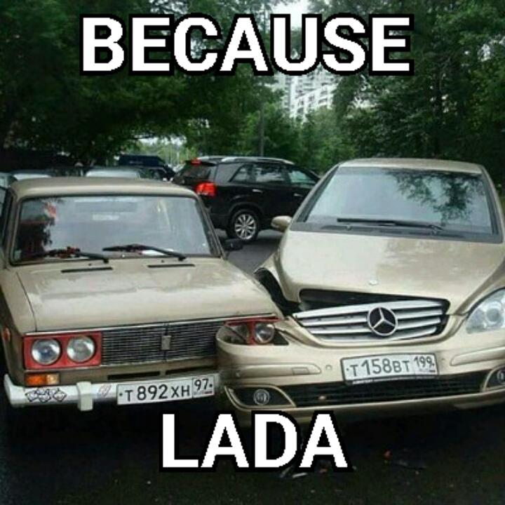 Russian Car Crash Lada