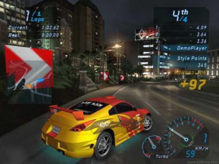 Need for speed underground where physics didn't matter but