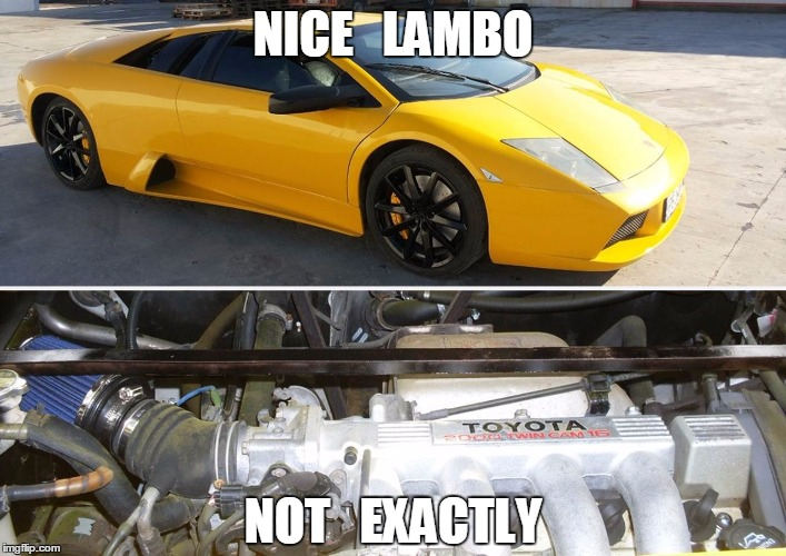 Why Anyone Buy A Lamborghini Murcielago Replica With