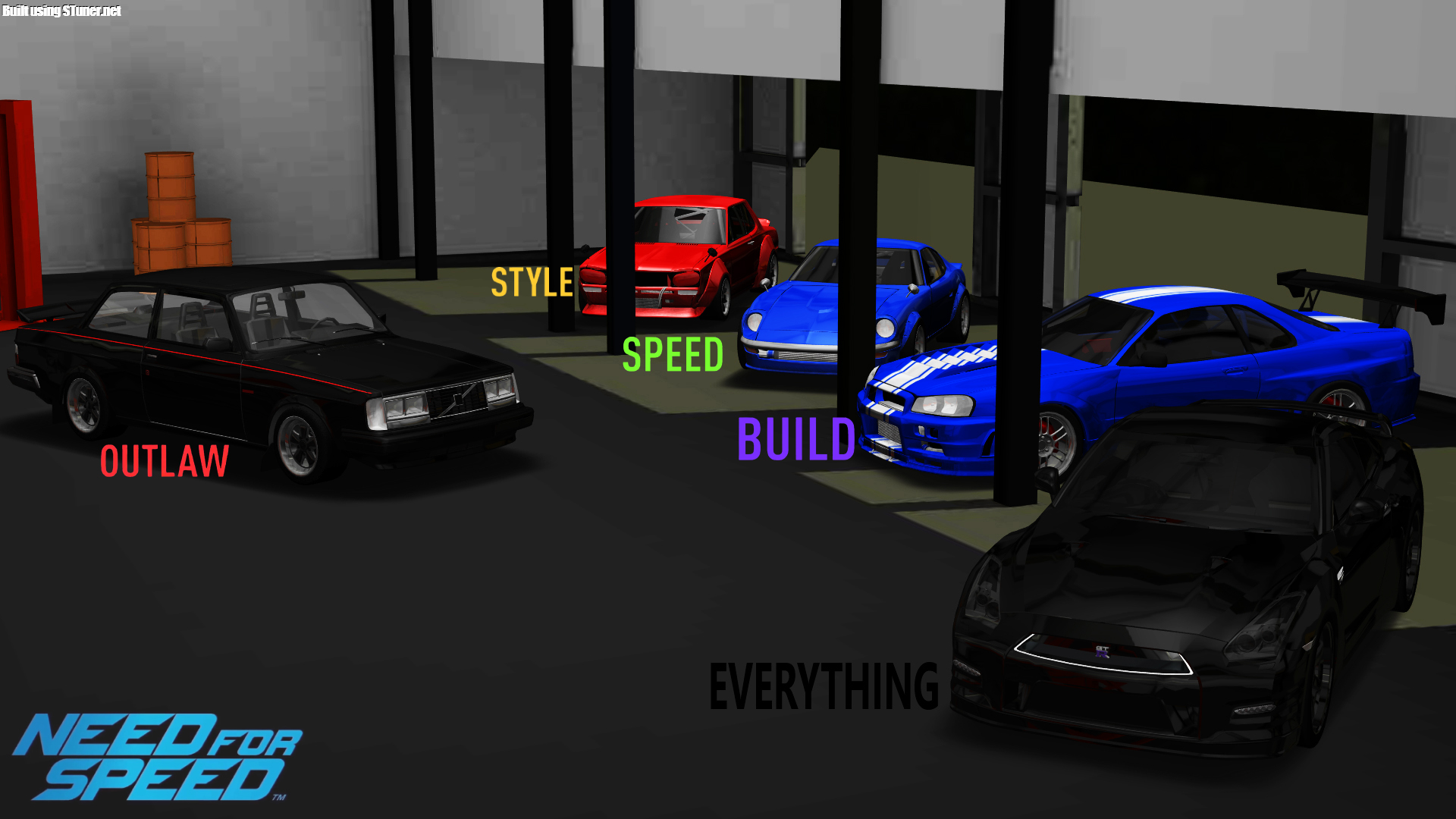 So Has Anyone Planned Their 5 Car Garage For Nfs 2015 These Are