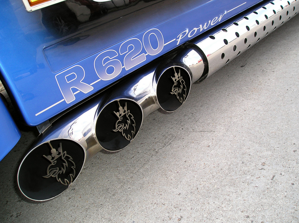 Any Love For This Scania V8 Exhaust