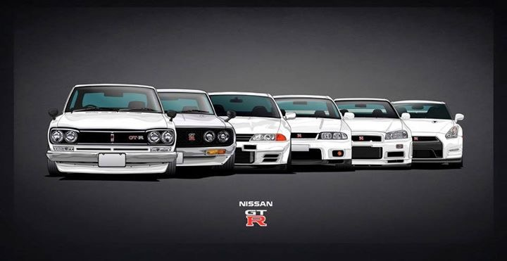 The Gtr Evolution All The Way From R30 To R35