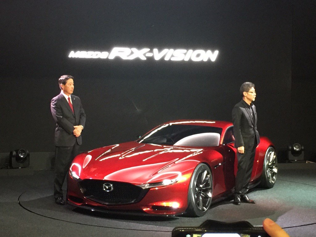 Just Going To Leave This Here The New Mazda Rx Vision Concept