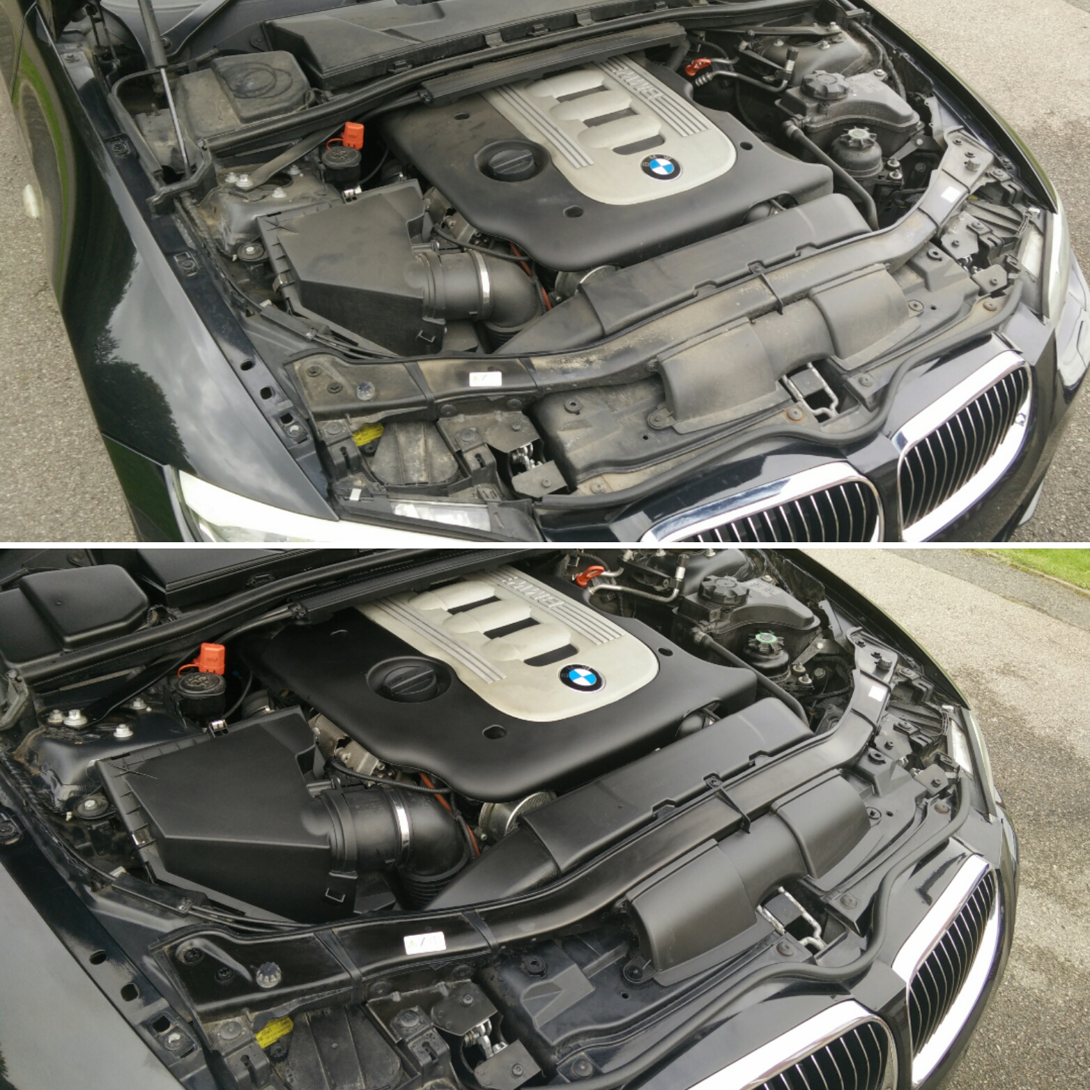 Detailing A Friends 2010 BMW 335D... (Part 2) Before And