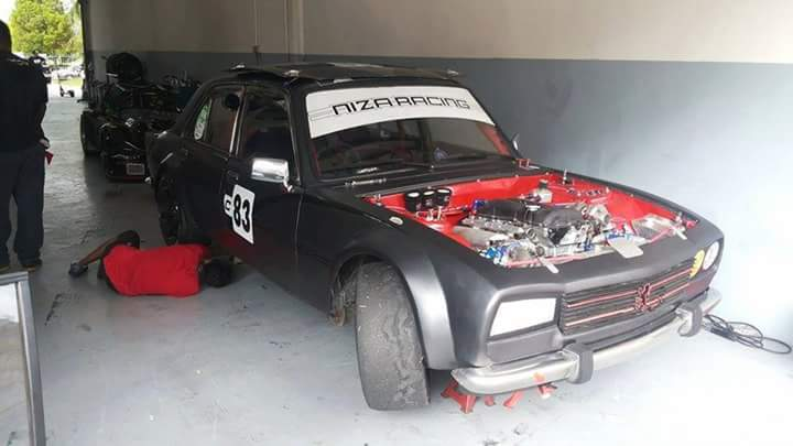 A Peugeot 504 with a SR20DET swap  How cool is that!?