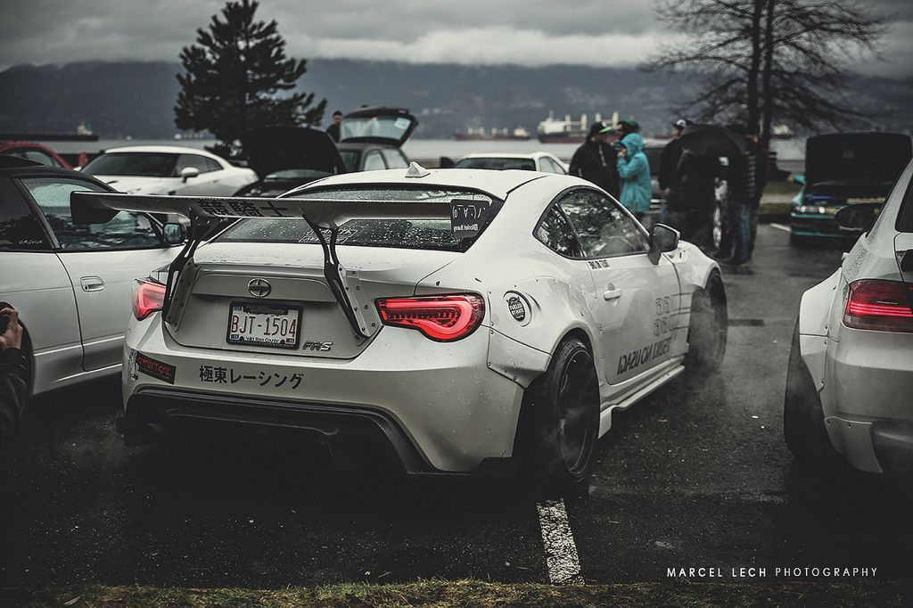 Scion Frs With Rocket Bunny Bodykit