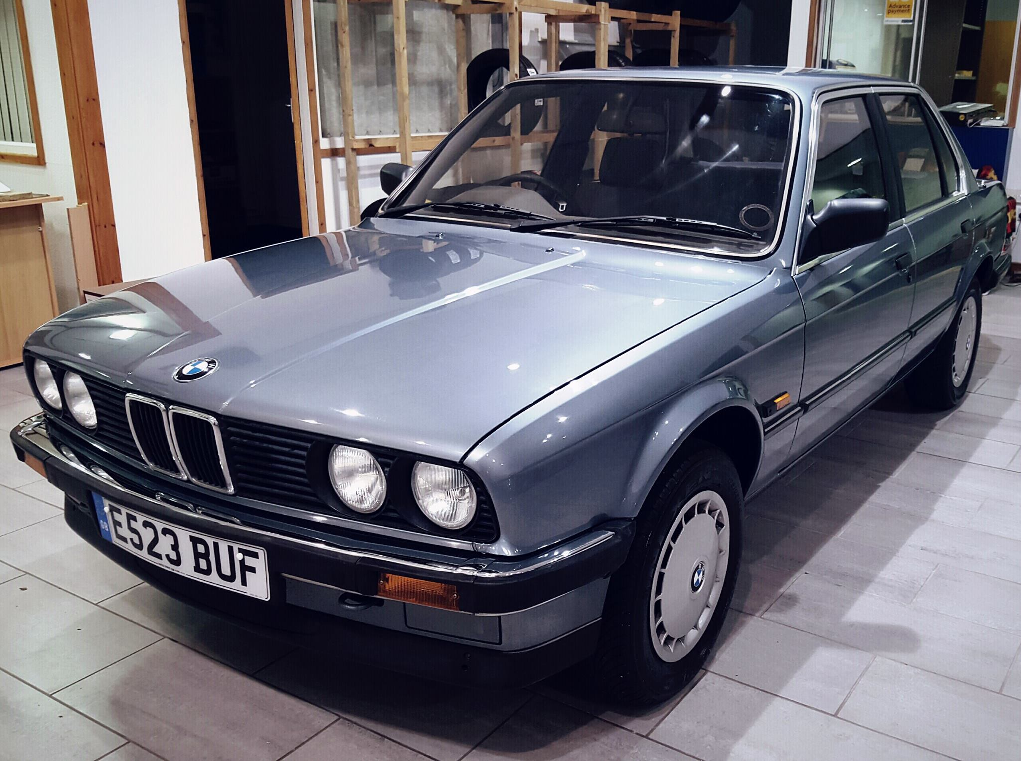 Fully Original 1987 Bmw E30 320i Just Been Put In The Showroom