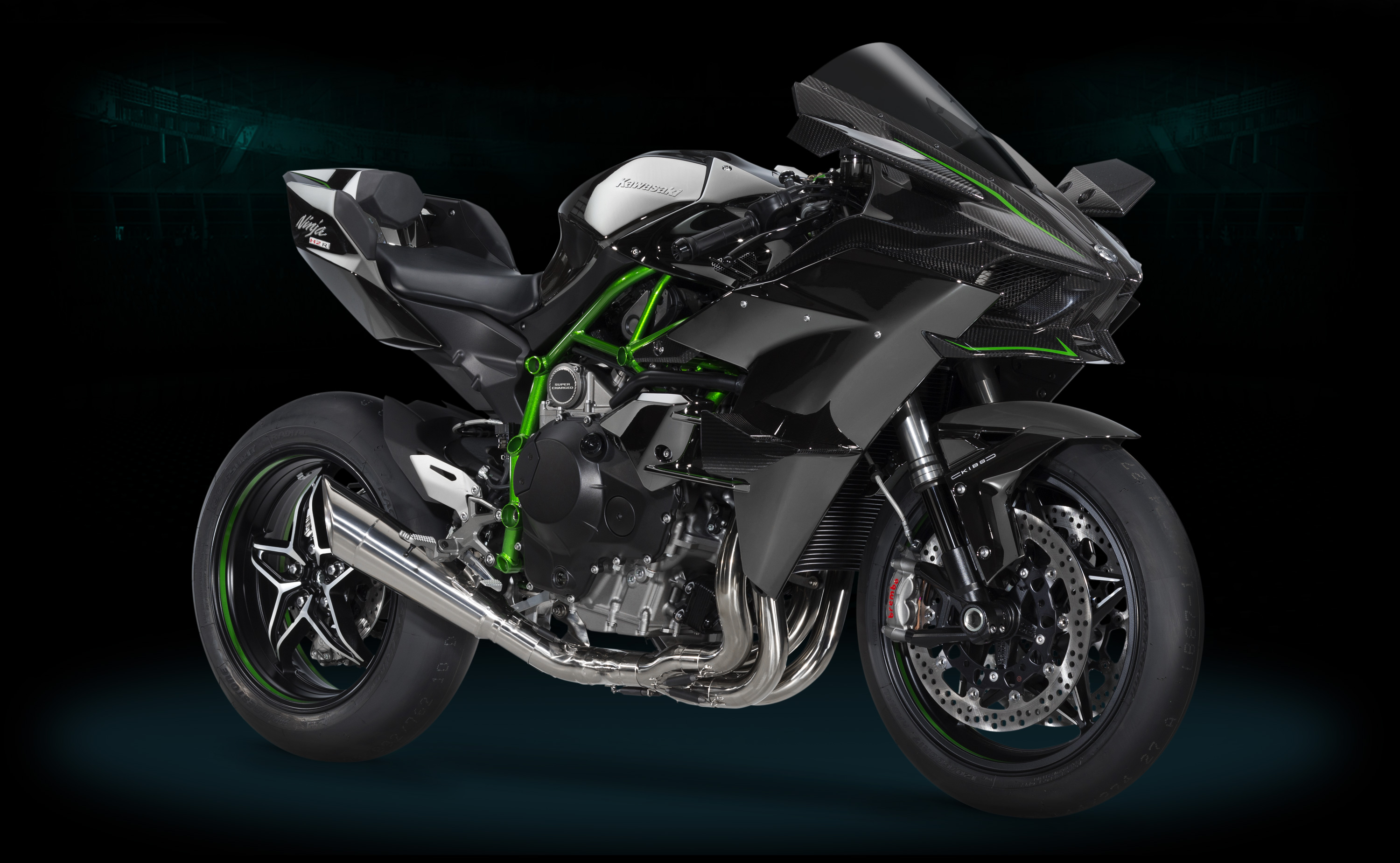i am in love with this bike  It has a 300 hp, supercharged 4