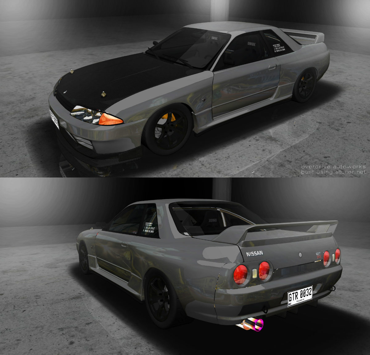 1989 nissan skyline gt r r32 built using stuner vanachro Gallery