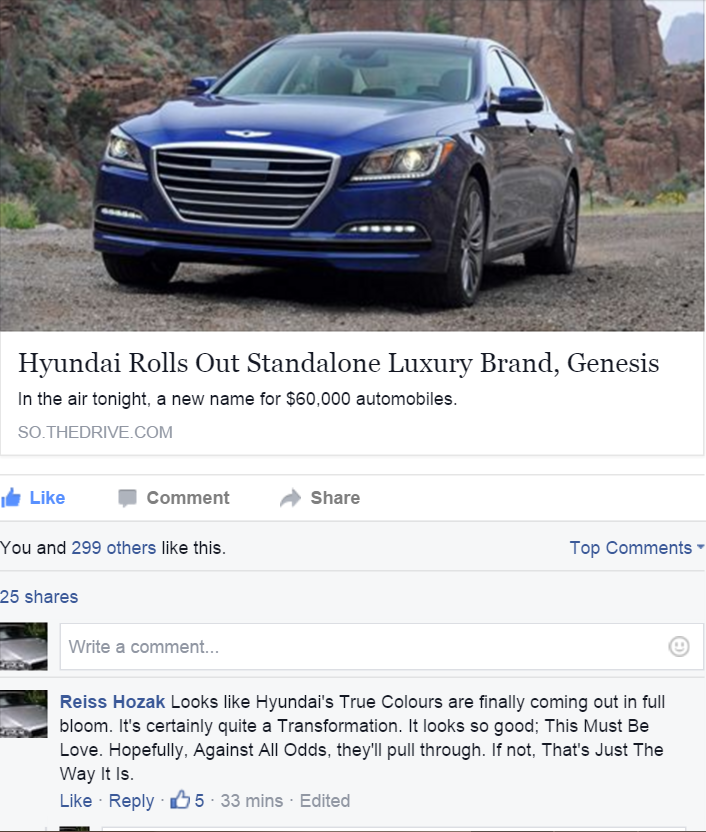 Hyundai made Genesis its own brand  The Phil Collins puns were