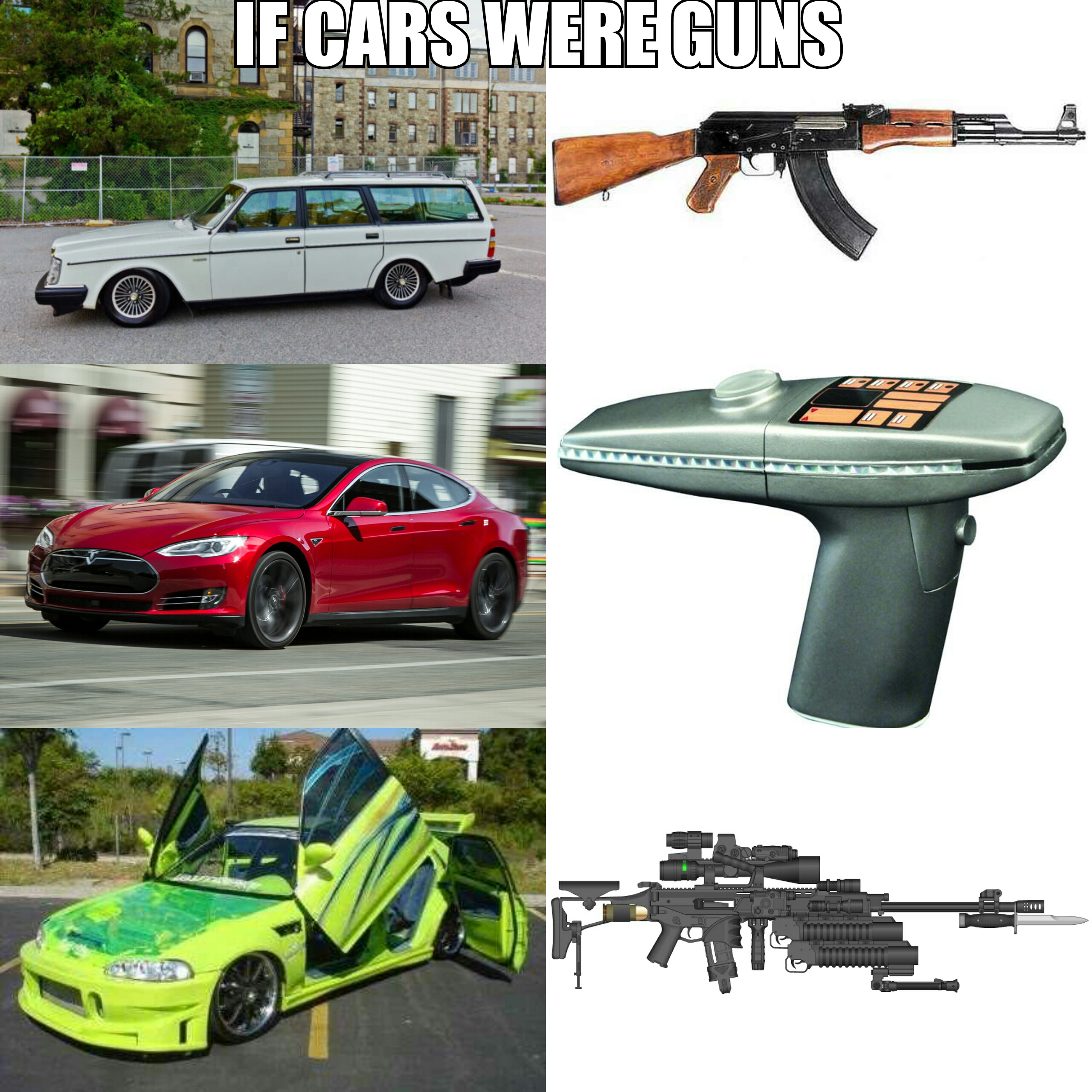 If cars were guns. Anyone else ever made this comparison? Any others ...