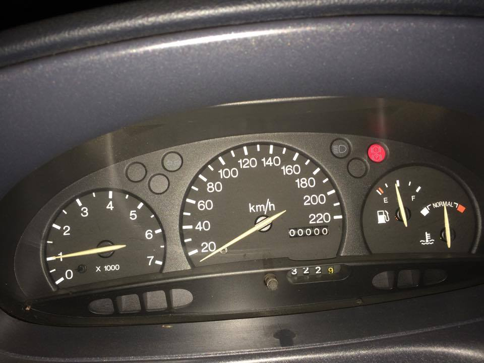 I have a 0 km car :D well it\'s actually 200000 km :)