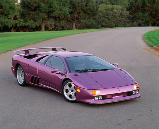 This Is Probably The Only Lamborghini That Looks Nice In Purple The Diablo Se30