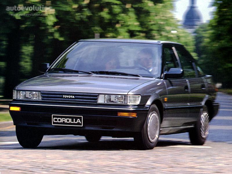 1987 Toyota Corolla Deluxe