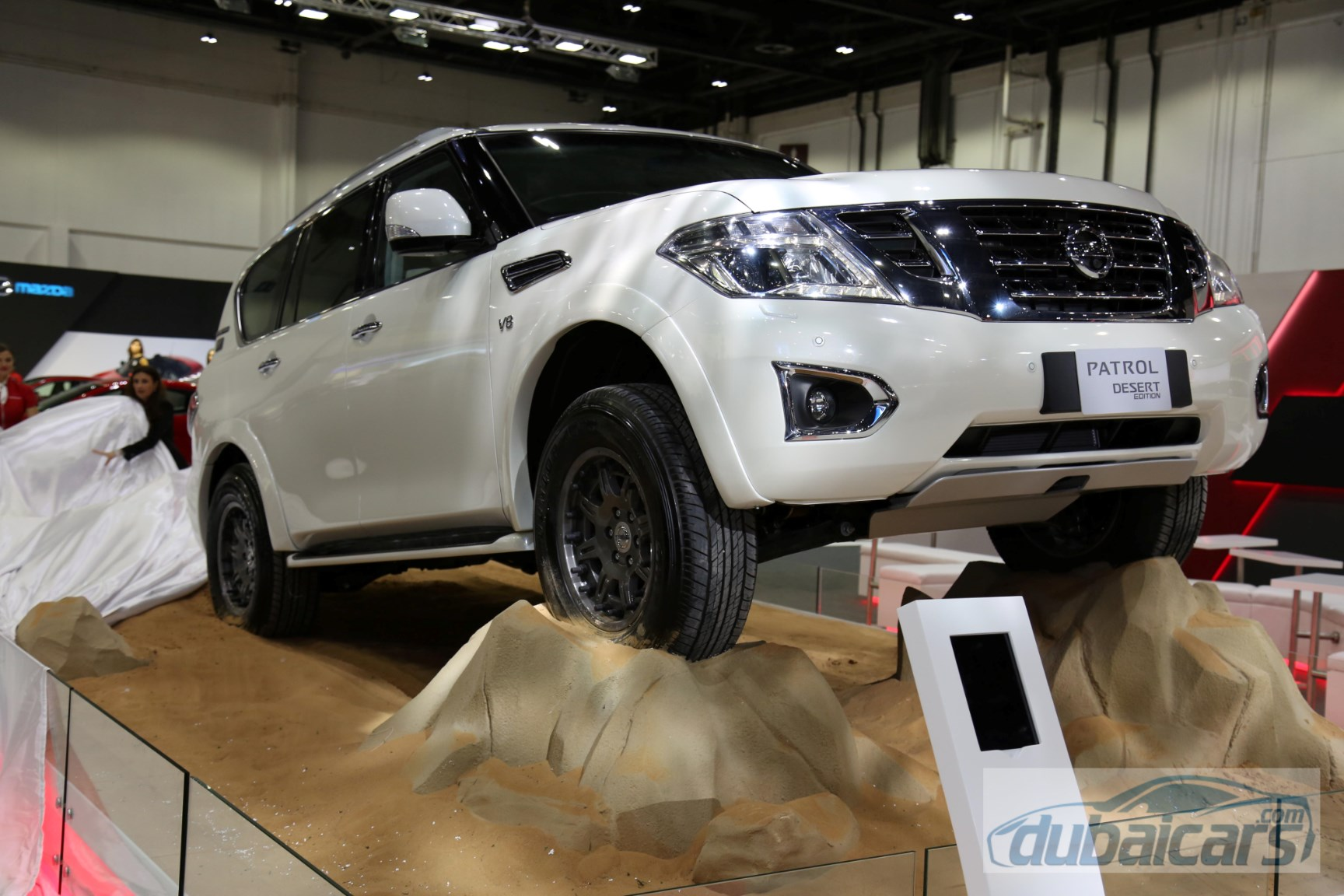 Nissan Patrol Desert Suv Launched At Dubai Motor Show 2015