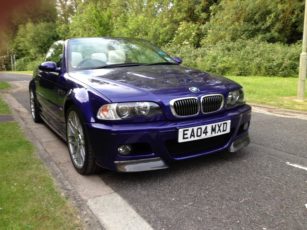 2004 BMW E46 M3 Individual Convertible with factory fitted CSL