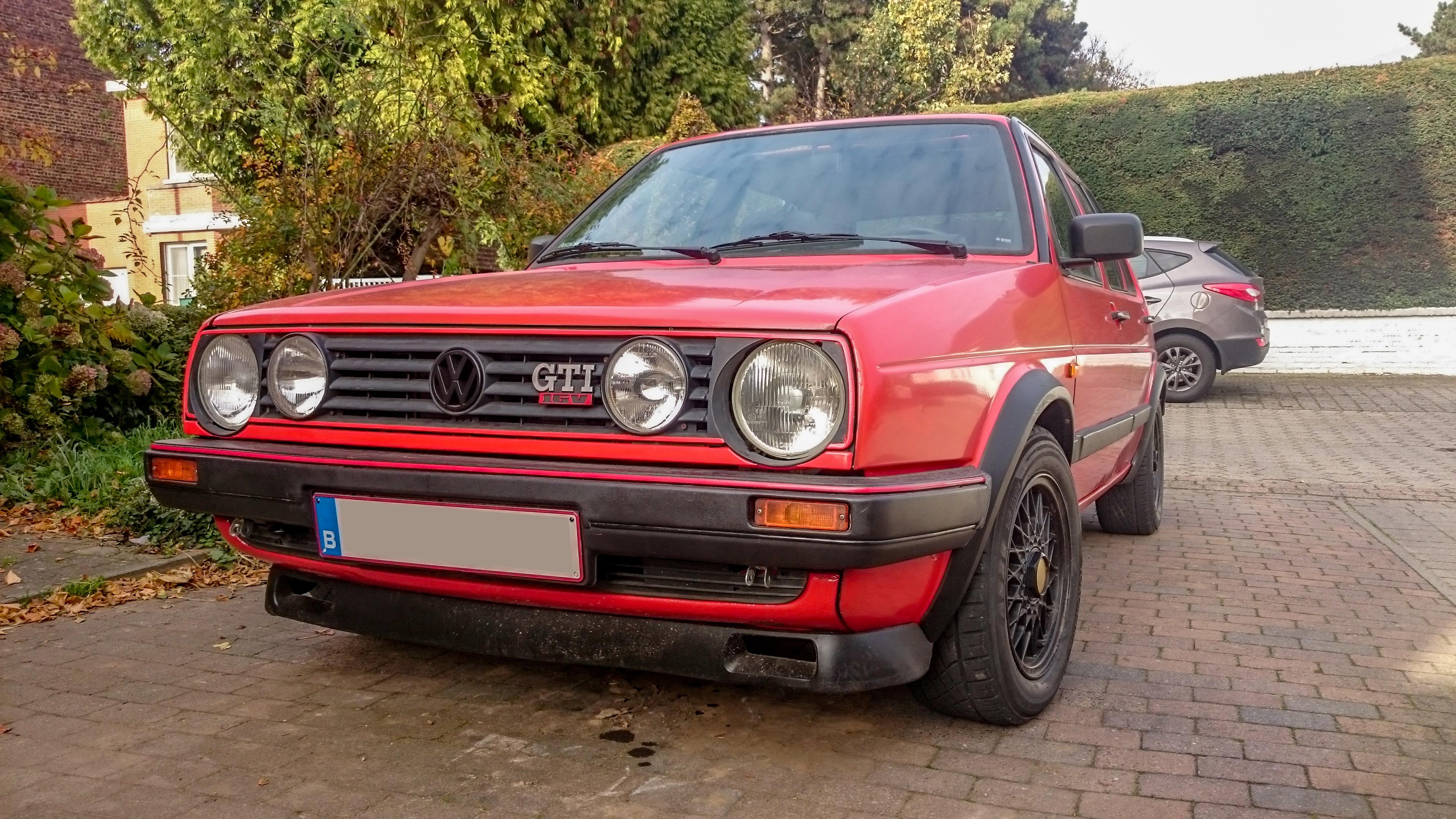 1988 Volkswagen Golf Mk2 Gti 16v