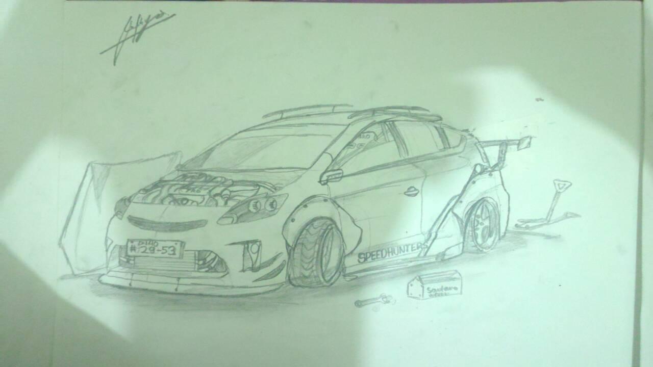 Prius drawing with 2JZ swap... nice?