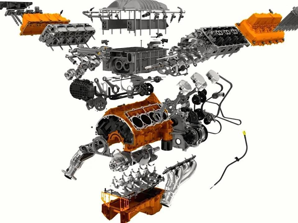 Exploded engine view, #EngineCommunity