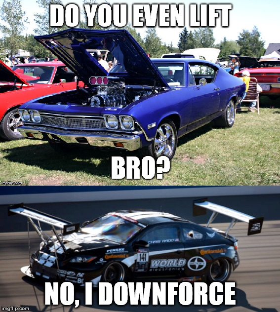 Get It Because That Malibu Is A Muscle Car