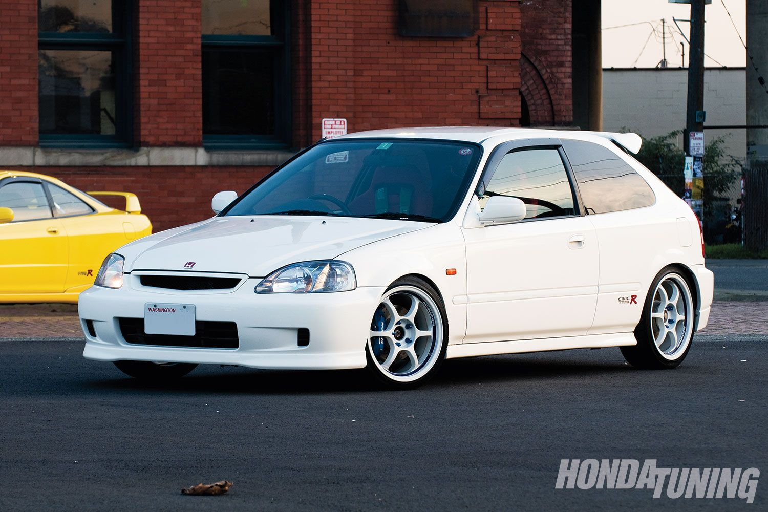 A Nice And Clean Honda Civic Hatchback Type R