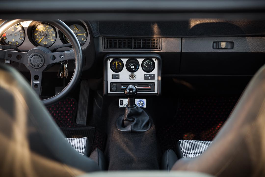 Superb Porsche   DWAprojectcar Porsche 944 Interior. Houndstooth @momomotorsport  @function_first_performance @speedlist @porscheregister Home Design Ideas