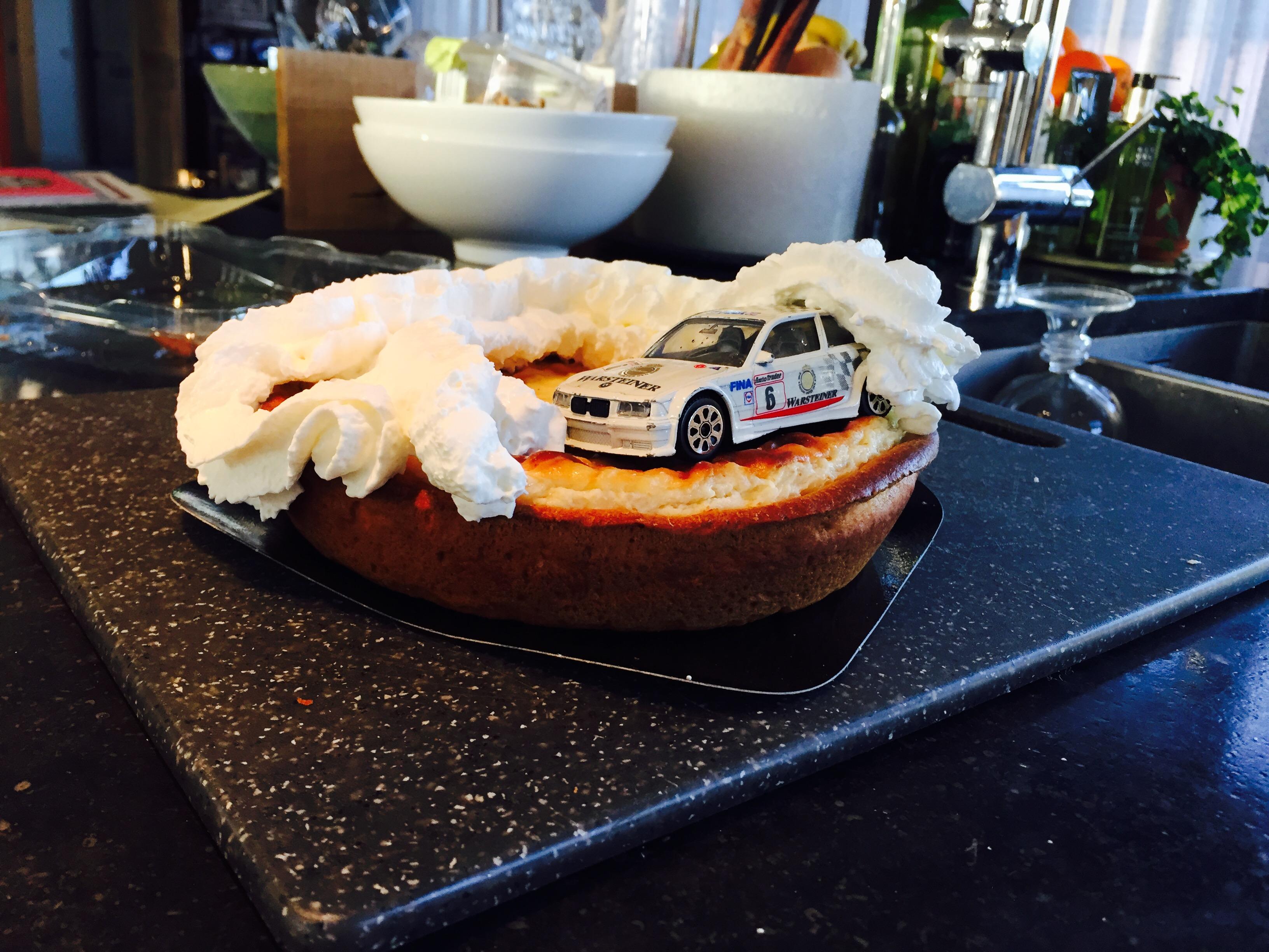 Nissan Birthday Cake