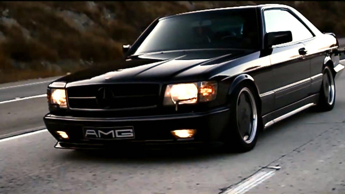 The legend mercedes benz 560 sec amg for Mercedes benz 560 sec
