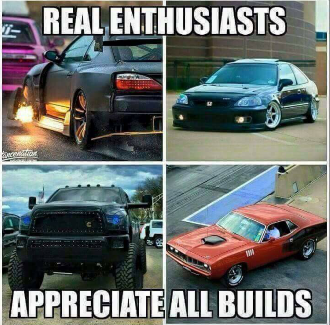 to all the haters in this car world!