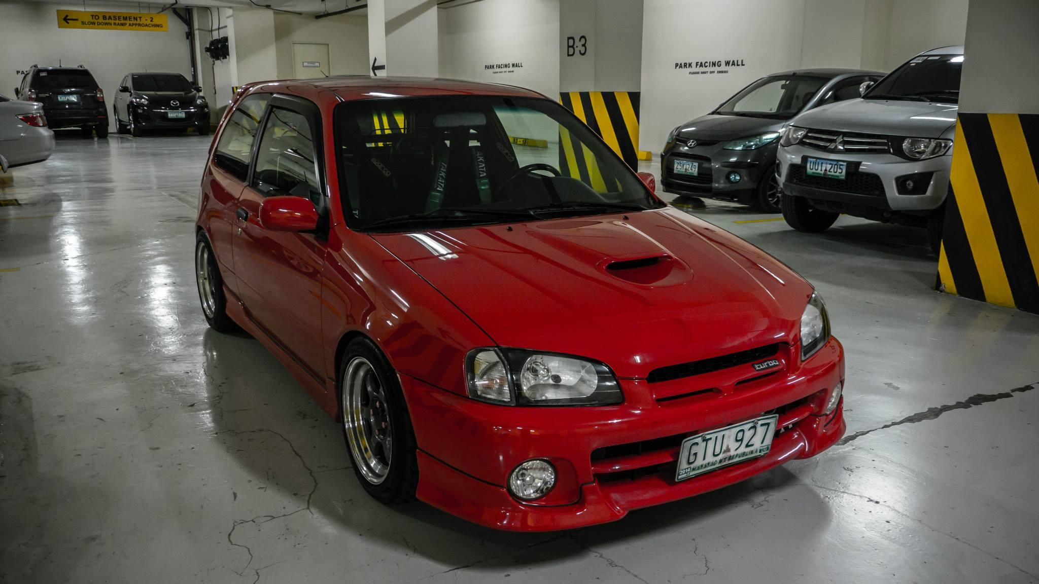 #CarsYouveNeverHeardOf The Toyota Starlet E91 Glanza V Turbo.