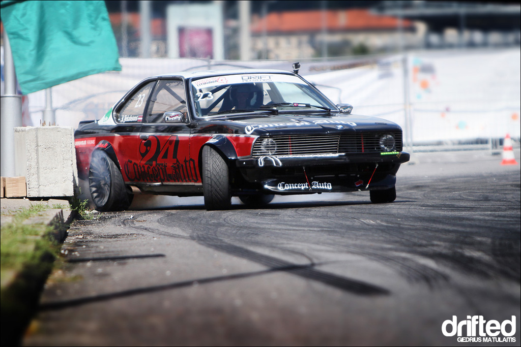 Another Pic With Ingemars Jekabsons Old Bmw Series Drift Car